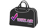 Малък ръчен багаж Wizz Air до 40х30х20см