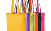 Тъмносин на точки - Чанти за пазар