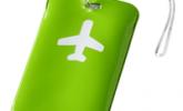 Син - Етикети за куфари