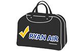 Малък безплатен кабинен ръчен багаж Ryan Air до 40x25х20см
