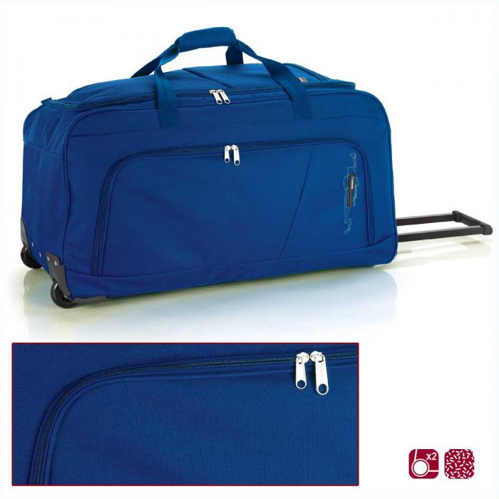 5c1e2df6c44 ᐉ Синя пътна чанта на колела Gabol Week 73см цена 83 лв.