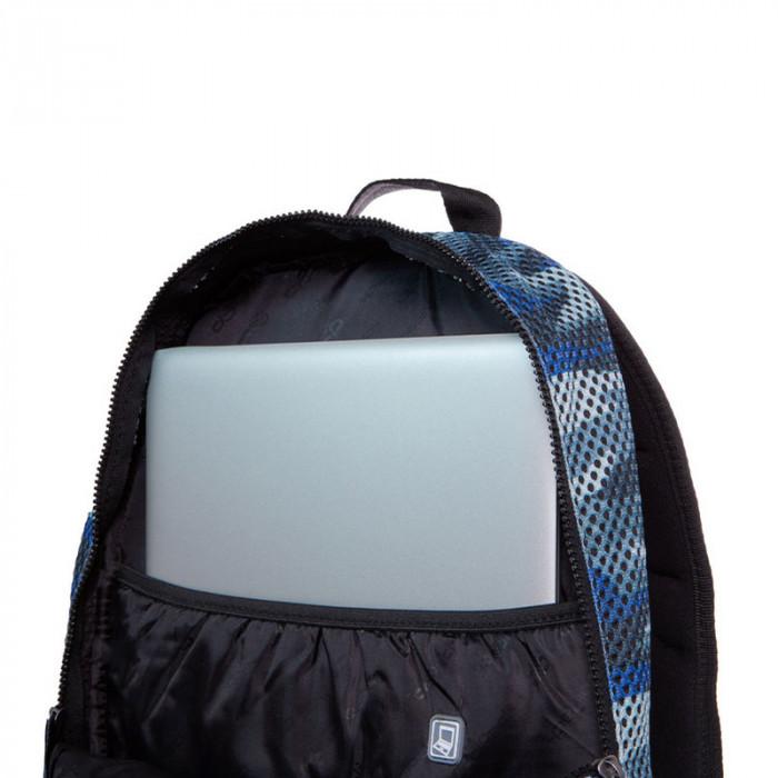 e2e5d51b9b3 ᐉ Синя раница камуфлаж CoolPack Impact II Camo Mesh Grey 25л цена 75.8 лв.