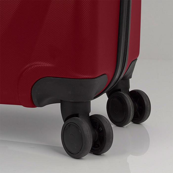 80ecbbd1421 ᐉ Червен голям твърд куфар на четири колела Gabol Royal 77см цена 129 лв.