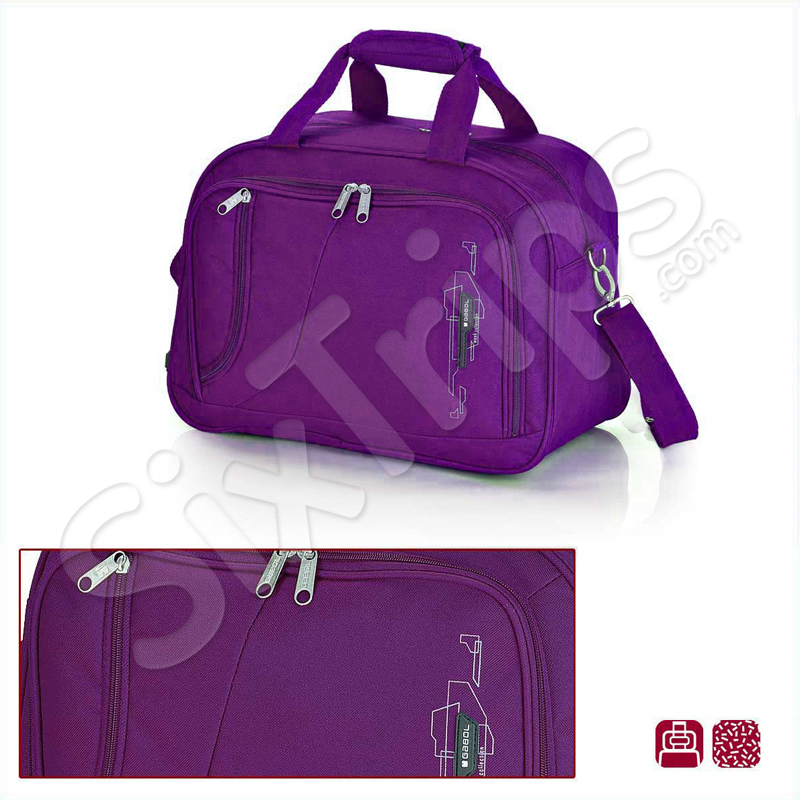 2779e653559 ᐉ Лилава пътна чанта 42см Week цена 40 лв.