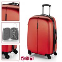 Твърд ABS куфар GABOL Paradise - червен