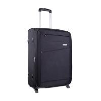 Стилен черен куфар Carlton Barnet 65см