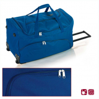 Удобна пътна чанта на колела 60см Gabol Week в син цвят