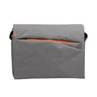 Сива чанта тип месинджър за лаптоп 15-16
