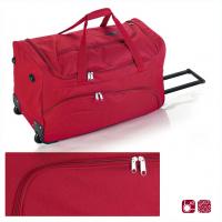 Червена изискана пътна чанта на колела Gabol Week 60см