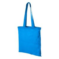 Памучна чанта за пазар Carolina, светлосиня