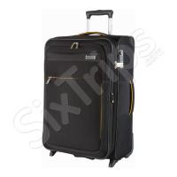 Голям черен куфар с две колела Travelite