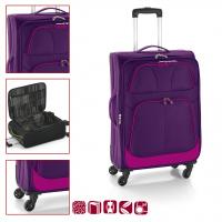 Текстилен куфар GABOL 78 см. лилав - Etna 11074729
