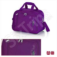 Лилава пътна чанта 42см Week