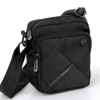Черна малка функционална чанта за рамо Gabol Twist
