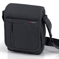 Мъжка черна чанта за през рамото Crony 24см