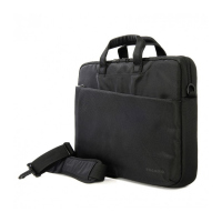 Компактна черна чанта Tucano 15.6