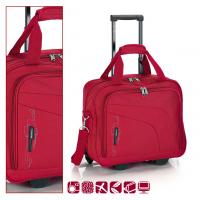 Червена пътна чанта на колела Gabol Week 40см