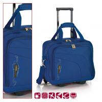 Синя пътна чанта на колела Gabol Week 40см в синьо
