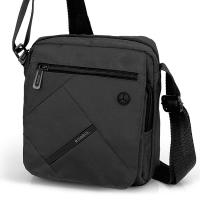 Стилна черна чанта за през рамо Gabol Twist