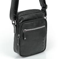 Черна малка чанта еко кожа Gabol Milan