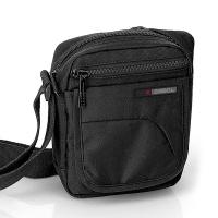 Малка мъжка черна чанта за през рамото Gabol Crony