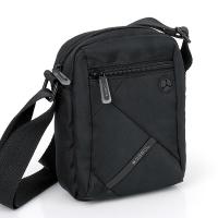 Функционална черна чанта за през рамото Gabol Twist