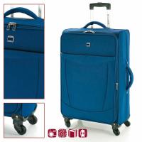 Голям син куфар с четири колела Orlando 76 см.