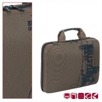Сиво-бежова чанта за лаптоп Code boy 15.4