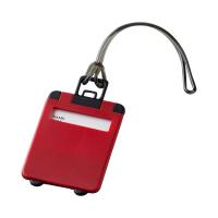 Червен етикет за куфар или чанта Taggy