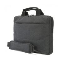 Стилна черна чанта за лаптоп или ултрабук 13