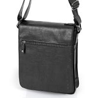 Чанта с капак и преден джоб Milan
