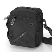 Малка компактна чанта за през рамо Gabol Twist в черен цвят