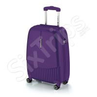 Стилен малък лилав куфар за ръчен багаж Strip