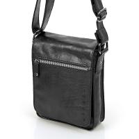 Черна чанта от еко кожа Gabol Milan