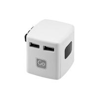Универсален USB-адаптер Go Travel
