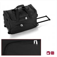 Практична черна чанта за пътуване на колела Gabol Week 50см