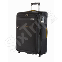 Стилен черен куфар за ръчен багаж Travelite