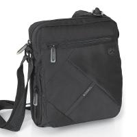 Изискана черна чанта за през рамо Gabol Twist