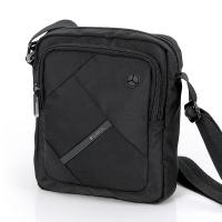 Черна чанта Gabol Twist с голямо отделение и преден джоб