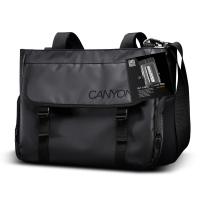 Чанта за рамо за лаптоп черна 14.1-15.6
