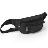 Черна мъжка чанта за документи за през кръста Gabol Twist