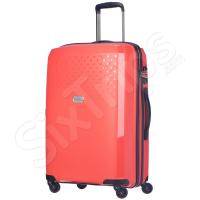 Модерен куфар в оранжево Puccini Havana 65см