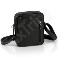 Чанта за през рамото в черен цвят Owel