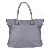Сива дамска чанта 42см Puccini