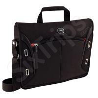 Стилна черна чанта за лаптоп Wenger Developer 15
