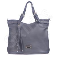 Дамска чанта Puccini 42см, сива