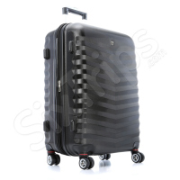 Голям куфар с четири колела Wenger, черен, 103л.
