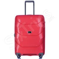 Куфар 65л в свеж червен цвят Puccini Miami