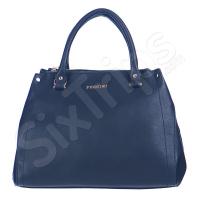 Практична синя дамска чанта Puccini