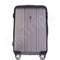 Куфар в стилен сив цвят Puccini Toronto 64л, поликарбонат
